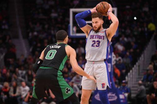 Boston Celtics' 8-game win streak comes to an end. Credit: Detroit Free Press