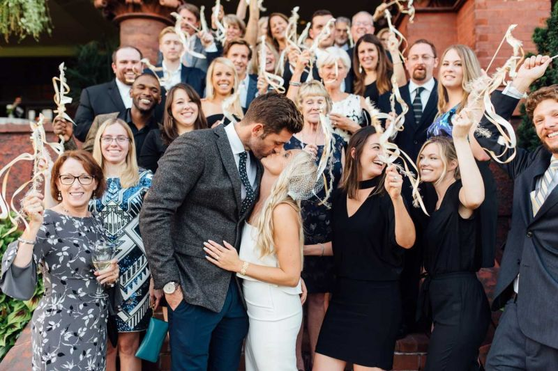 Plunkett married Erb on 13th October 2018
