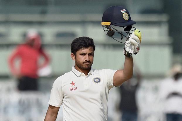 Karun Nair scored a triple century against England