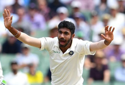 Jasprit Bumrah claimed eight wickets