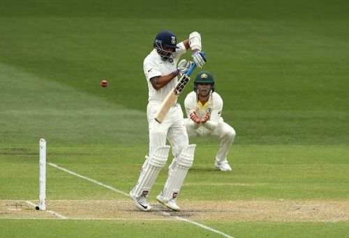 Vijay failed to impress in the Adelaide Test