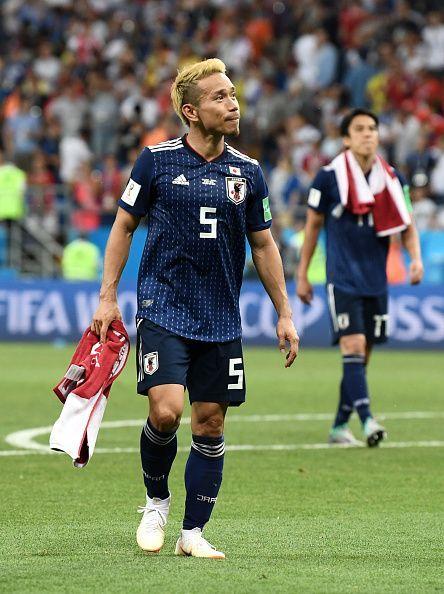 Yuto Nagatomo - Belgium v Japan: Round of 16 - 2018 FIFA World Cup Russia