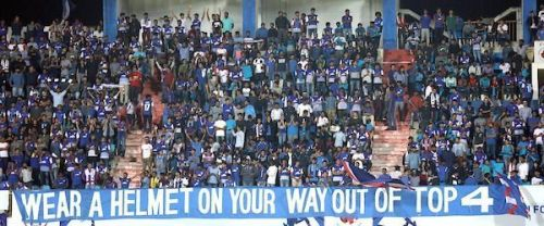 Bengaluru FC was fined Rs 15 lakhs after their fans were found to have abused match officials