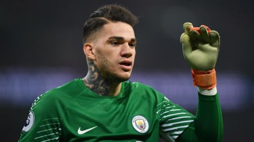 Ederson is brilliant both with his gloves and his feet.