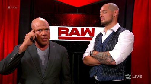 Could Angle replace the Constable as RAW General Manager?