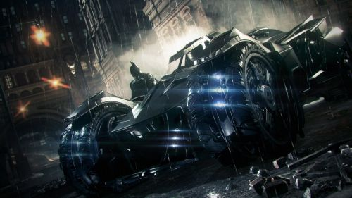 Arkham: Batmobile