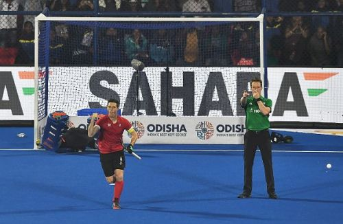 Canada v South Africa - FIH Men's Hockey World Cup