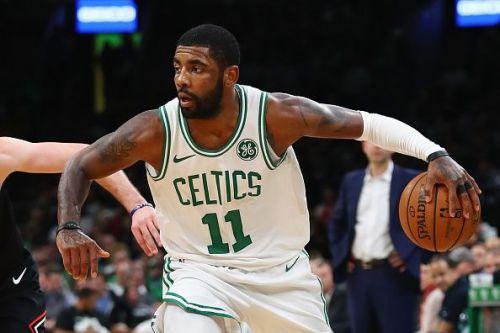 Action from Chicago Bulls v Boston Celtics