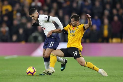The fans have frequently urged the club to make Erik Lamela part of the starting XI