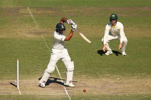 Hanuma Vihari during the CXI v India - International 4-Day Tour Match: Day 4