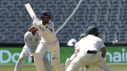 Cheteshwar Pujara batted brilliantly and anchored India's innings