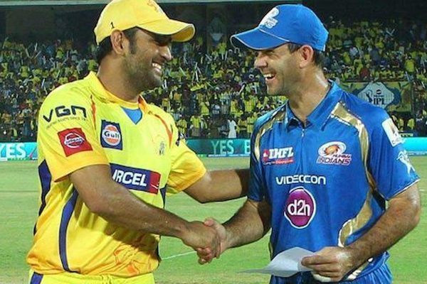 MS Dhoni and Ricky Ponting