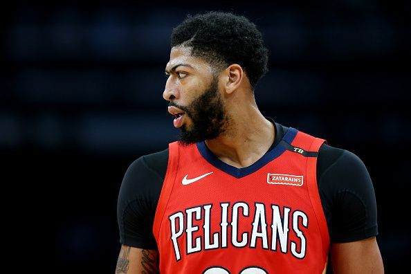 Anthony Davis was named a finalist for DPOY and MVP