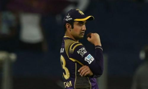 Gautam Gambhir was one of the best players to have played for KKR