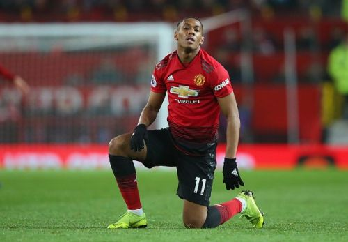 Martial has not fulfilled his vast potential under Jose