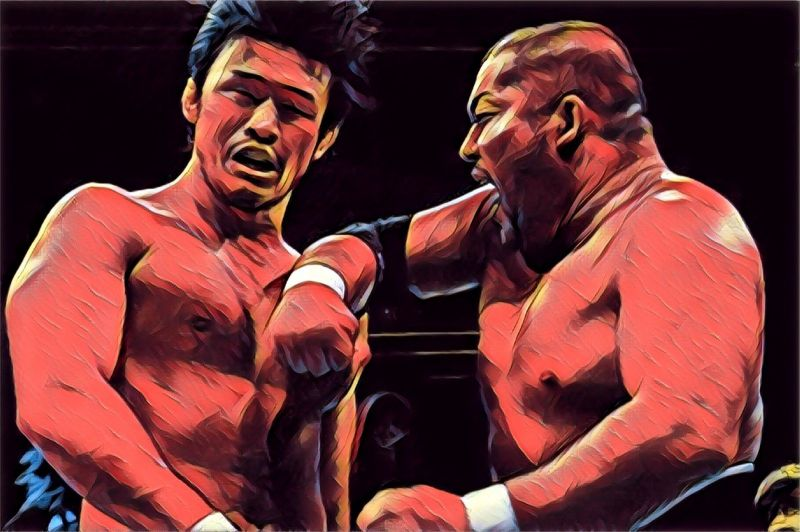 Ishii smacking it out of anyone who