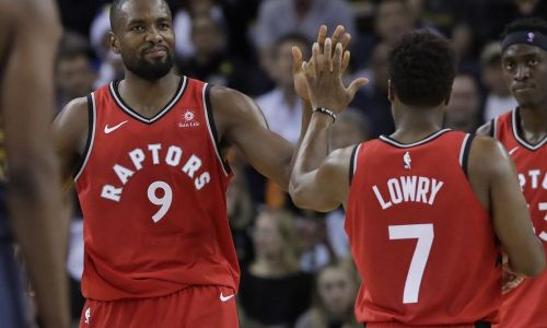 Raptors' starters fired on all cylinders