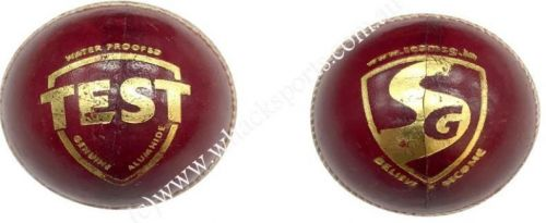 Red SG cricket Ball
