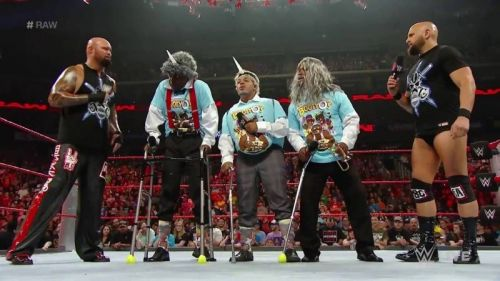 New Day, meet The Old Day - One of the worst segments ever