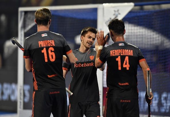 The Dutch played with just the quarterfinals in their mind
