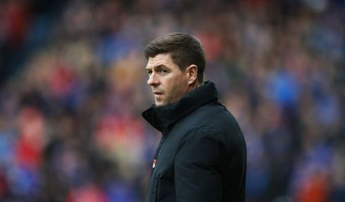 Rangers manager and Liverpool legend Steven Gerrard