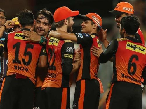 Sunrisers Hyderabad finished as runners-up of IPL 2018