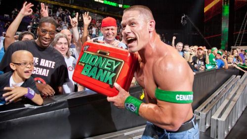Image result for john cena money in the bank