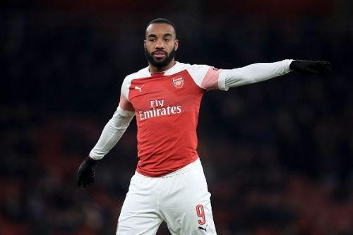 Lacazette fired the winner for Arsenal