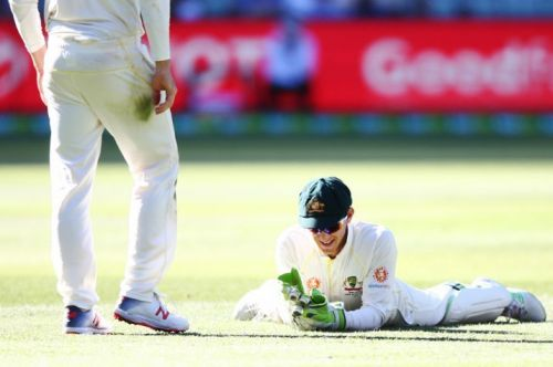 Kohli was dropped by Paine on Day 1