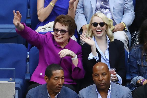Billie Jean King at the 2017 US Open Tennis Championships