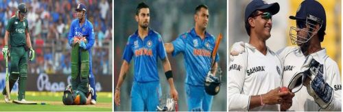 MS Dhoni exhibited his sportsmanship on many occasions