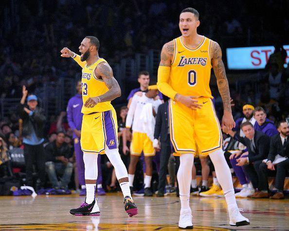 NBA 2018-19  Los Angeles Lakers vs Charlotte Hornets predicted ... 817ea50a8