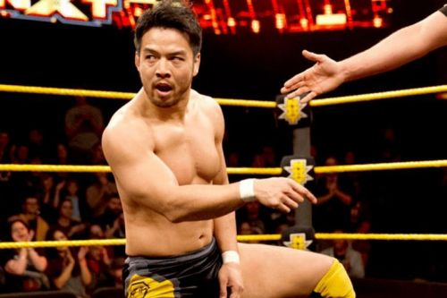 Itami, back during his time in NXT.