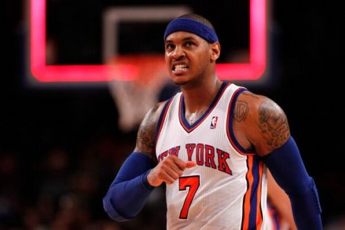 Carmelo Anthony played for New York between 2011 and 2017