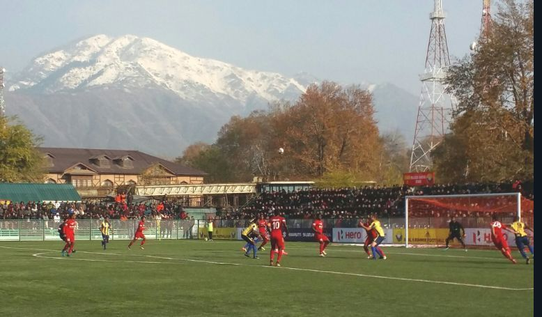 The I-League had a new venue for the fans