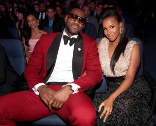 The 2013 ESPY Awards - Lebron James with Wife