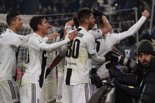 Juventus head into the festive break with a healthy eight-point lead