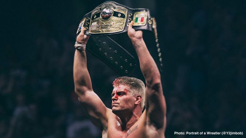 Cody Rhodes Wins NWA Worlds Heavyweight Championship at All In