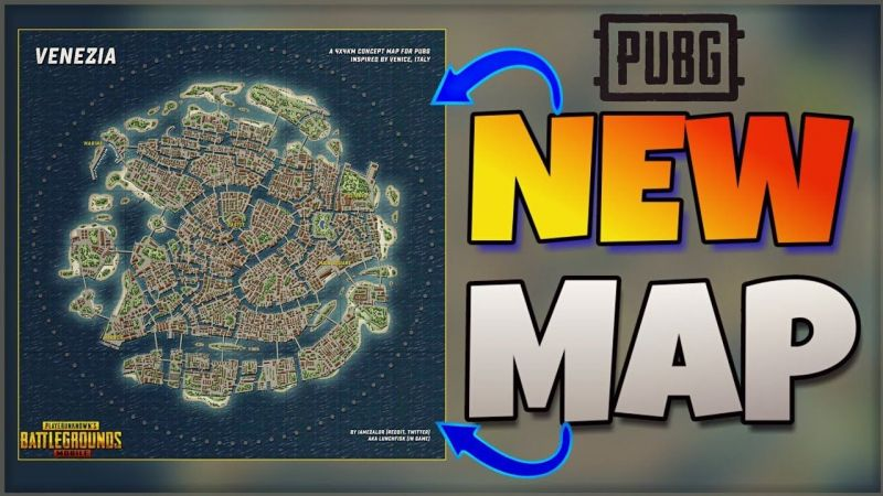 Will PUBG Concept Map Venezia Be The Next Map In PUBG Mobile, PUBG