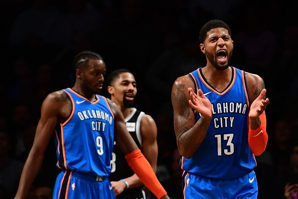 NBA 2018 19  3 Reasons why the OKC Thunder are a major threat to the ... 346deafdc21