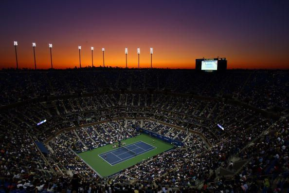 Arthur Ashe Stadium - The primary court of the US Open and the largest tennis stadium in the world by capacity