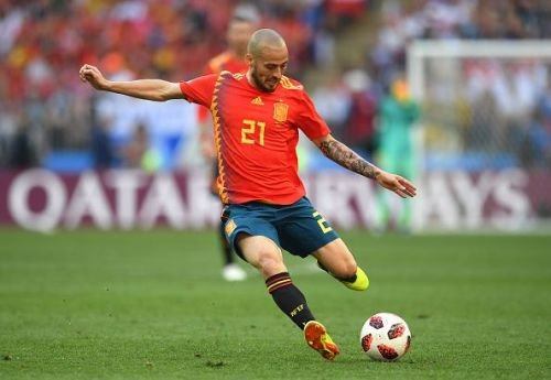 David Silva at the 2018 World Cup