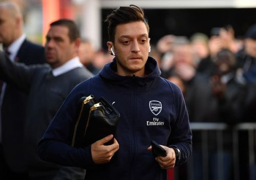 Mesut Ozil's time at Arsenal could be coming to an end