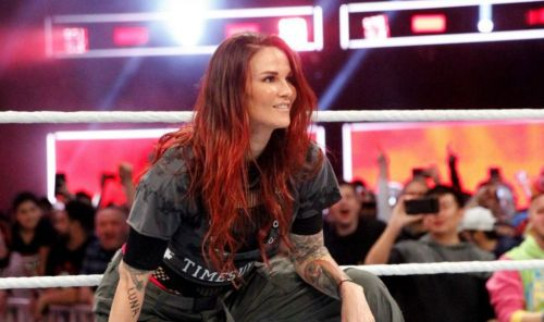 The WWE Hall of Famer back in the first-ever women's Royal Rumble