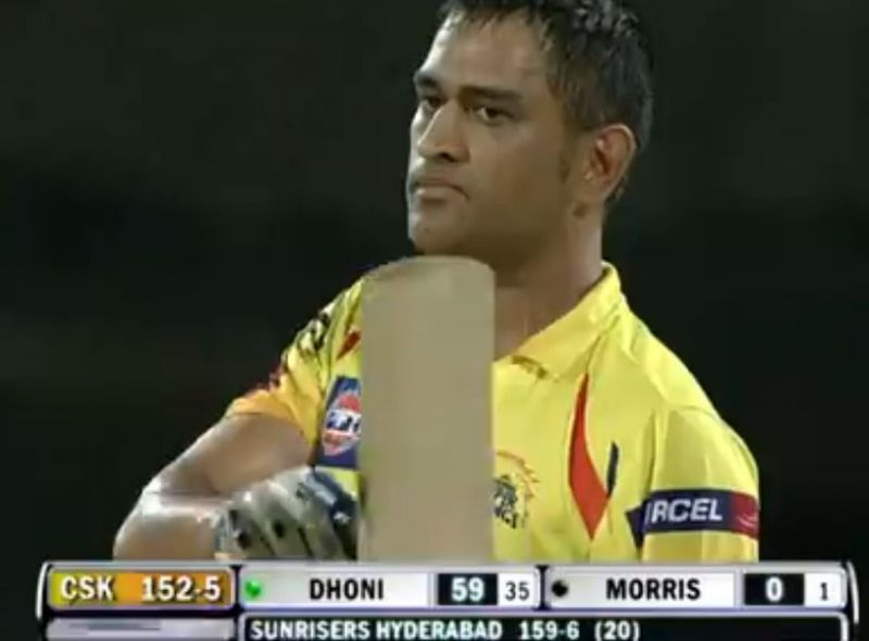 Dhoni showed great sportsmanship in a crunch situation