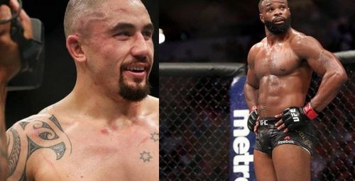 Robert Whittaker (left) and Tyron Woodley (right) are sagacious combatants