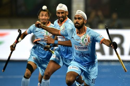 Hosts India produced a spirited effort to eke out a 2-2 draw against Olympic silver medallists Belgium