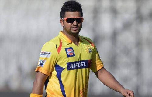 Suresh Raina in action for CSK