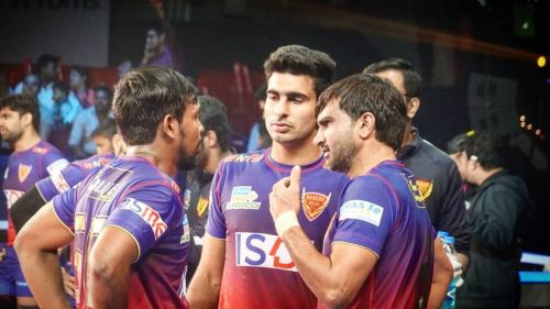 Joginder Narwal has Dabang Delhi K.C from the front with some commendable performances
