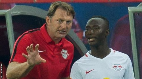 Hasenhuttl coached Liverpool midfielder Naby Keita at RB Leipzig